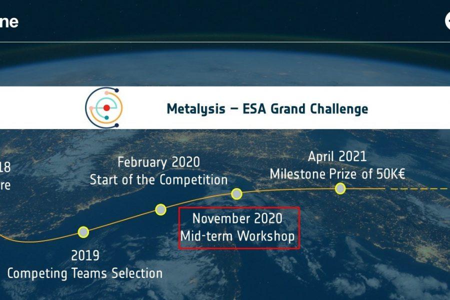 Metalysis–ESA Grand Challenge: team Malt wins first phase